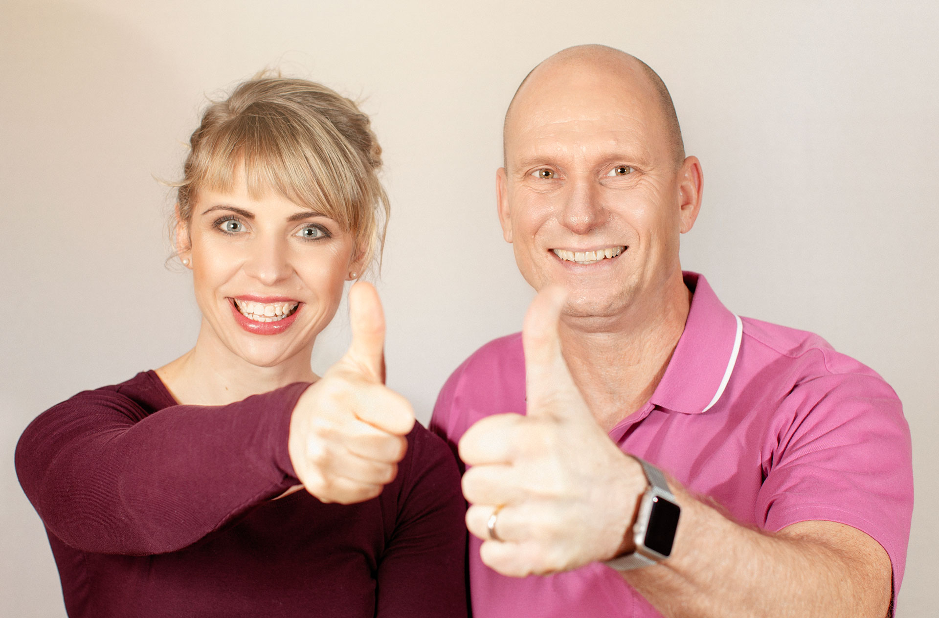 Geschäftsführer Ulrike Kaiser und Ulrich Steinke